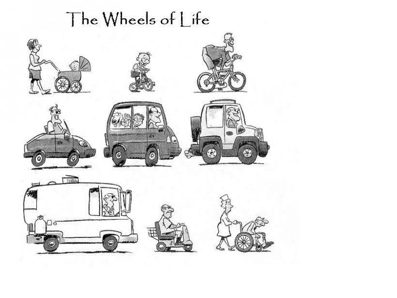 Les transports de la vie... dans Petite pause retraites